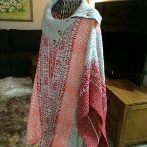 Caslon sweater/poncho